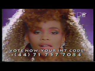 WHITNEY HOUSTON - I Wanna Dance With Somebody (MTV 1987)